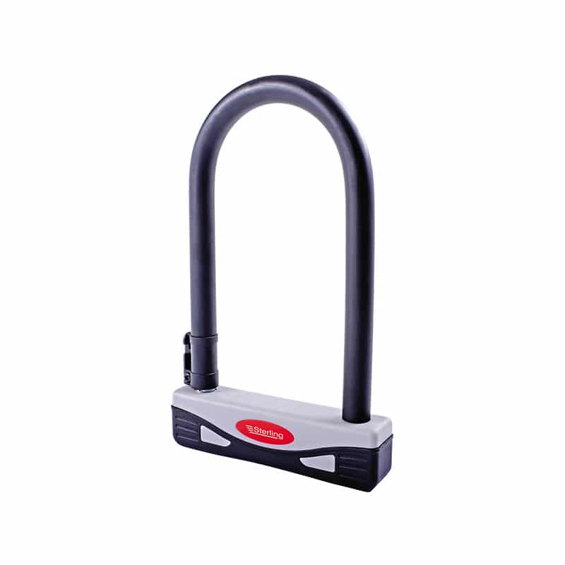 Sterling 272S 170 x 210 mm Secure Gold Aproved Universal D Lock – Grey/Black