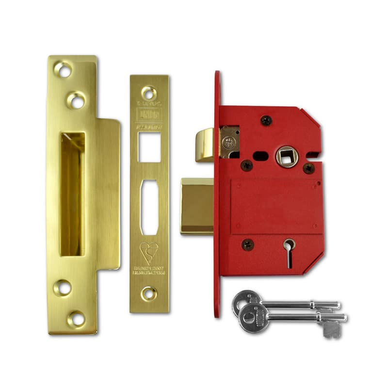 UNION-J2200-Strongbolt-BS-5-Lever-Sashlock-64mm-PL-KD-Boxed