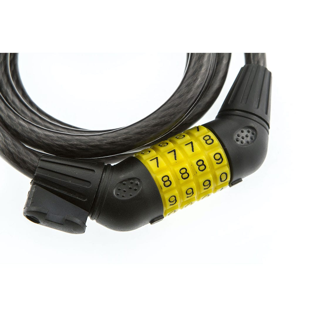 10mm x 1.5m Self Coil Locking Cable