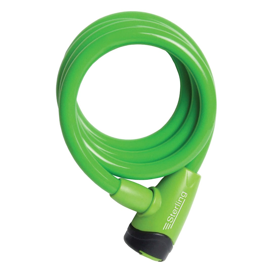 10mm x 1.2m Locking Cable - Coloured