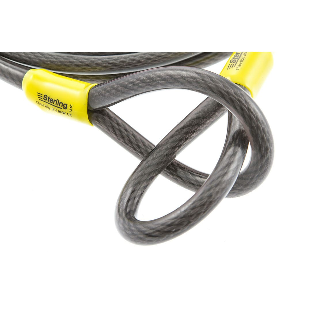 12mm x 4.5m Braided Steel Cable