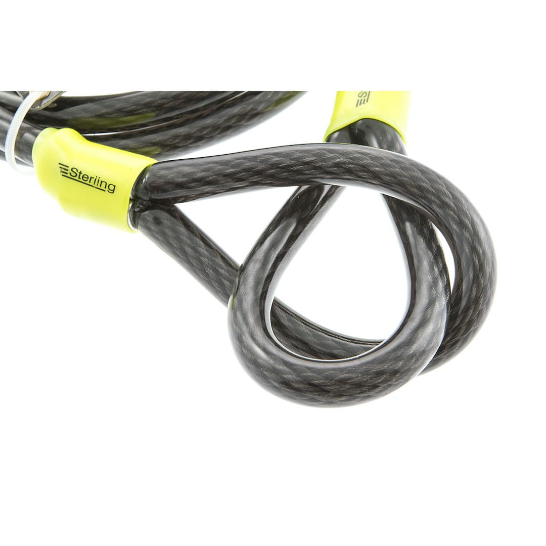 15mm x 1.8m Steel Locking Cable
