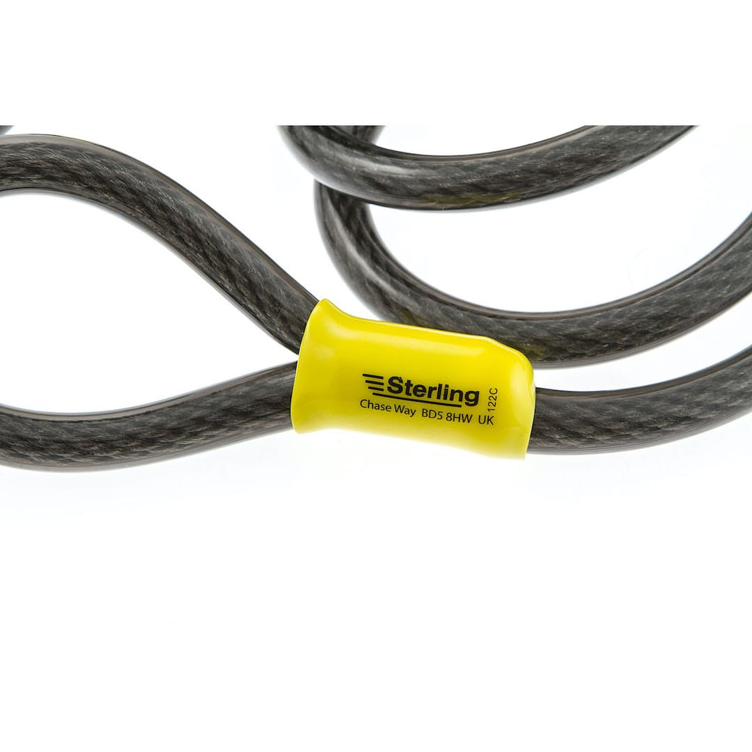 12mm x 2.1m Braided Steel Cable